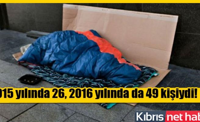 Güney Kıbrıs'ta 129 Kişi Sokakta Yaşıyor