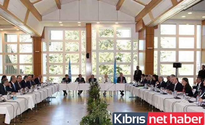 Guterres Başkanlığındaki Beşli Toplantı Devam Ediyor