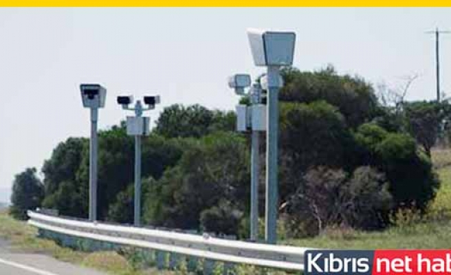 Güvercinlik kavşağına hız tespit kamerası