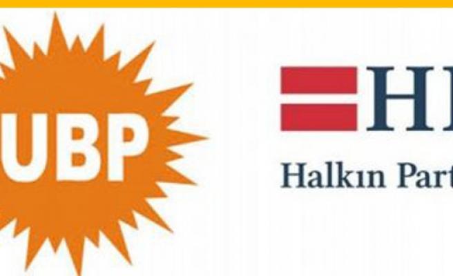 Hem UBP hem de HP grup toplantısı yapıyor