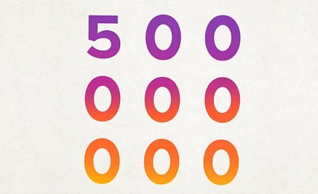 Instagram 500 Milyon Kullanıcıya Ulaştı