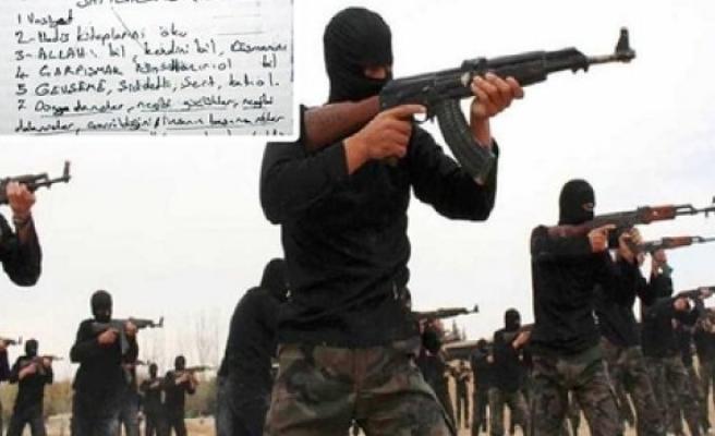 IŞİD her örgüt üyesine vasiyet yazdırmış