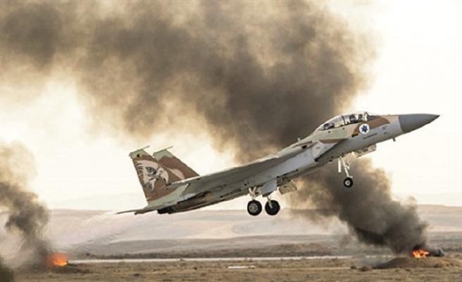 İsrail jetleri Şam'a saldırdı