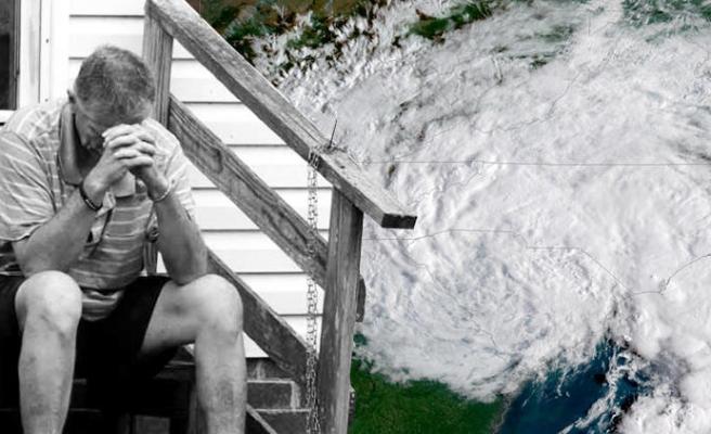 Kasırga en tehlikeli boyuta ulaştı...
