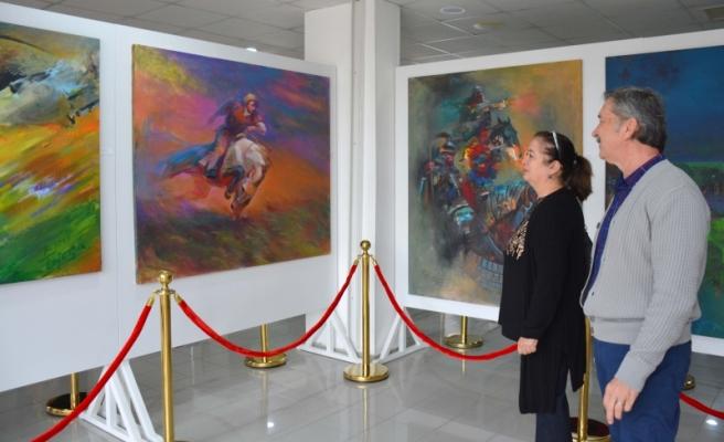 Kazakistan Ve Kırgızistan Sanatçıları Sergisi