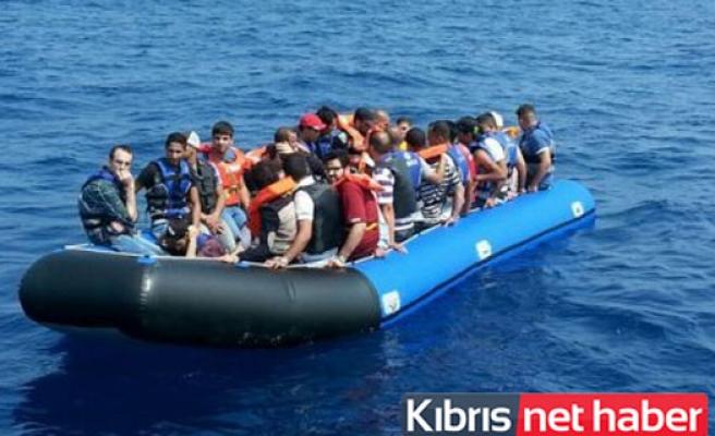 Kıbrıs açıklarında 61 Suriyeli Mülteci Tespit Edildi