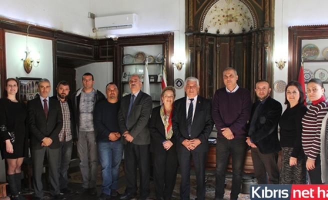 KTBB Başkanı Özçınar, Birlik Çalışanlarının Yeni Yılını Kutladı