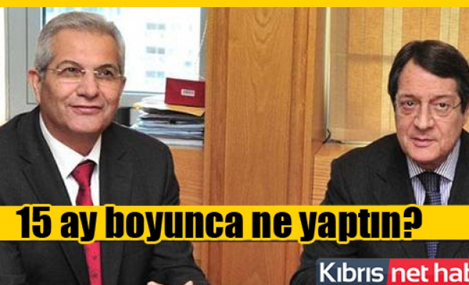 Kyprianou'dan, Anastasiadis'e Müzakere Eleştirisi