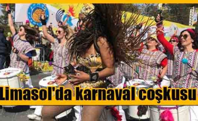 Limasol'da karnaval coşkusu
