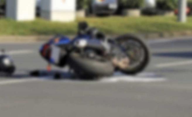 Motosiklet Kazası; Sürücü Yoğun Bakımda