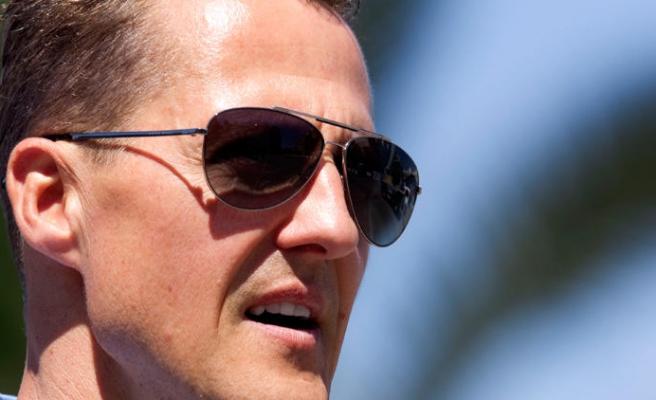 Nereden nereye! Michael Schumacher...