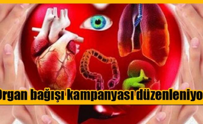 Organ bağışı kampanyası düzenleniyor