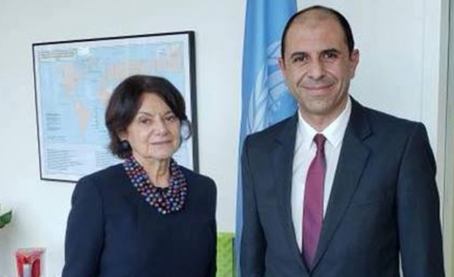 Özersay BM Genel Sekreter Yardımcısıyla Görüştü