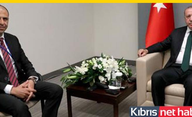 Özersay, Erdoğan ile görüştü