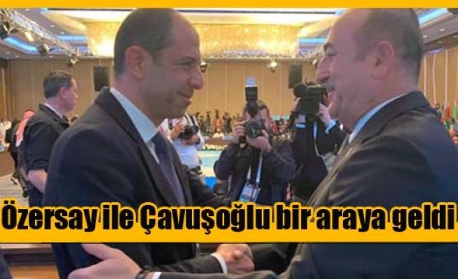 Özersay, İstanbul'da İit Toplantısına Katıldı