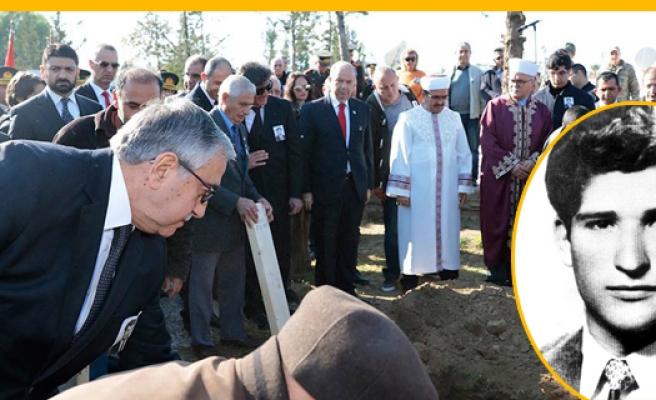 Ruso, şehit düştüğü yere, 55 yıl sonra defnedildi