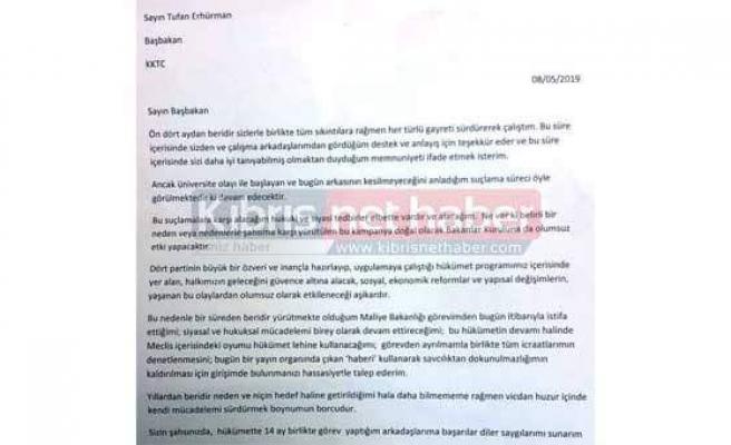 Serdar Denktaş istifa etti.. İşte ilk açıklama