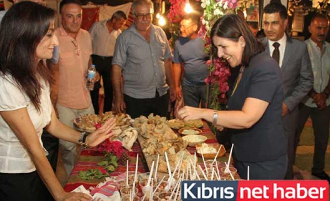 Siber, 7. Çınarlı kültür sanat  festivali'nin açılışına katıldı ....