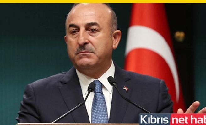 TC Dışişleri Bakanı Çavuşoğlu, KKTC'den ayrıldı.