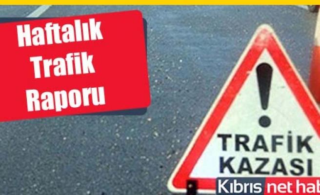 Trafikte haftalık acı bilanço