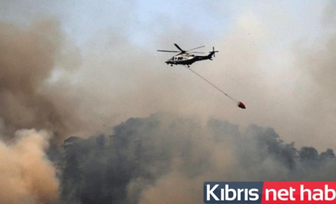 Trodos'taki yangın kontrol altına alındı!