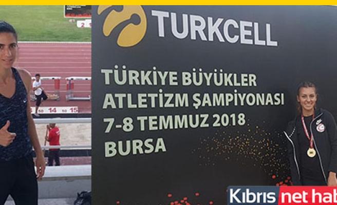 Tuğba Aydın Türkiye birincisi oldu