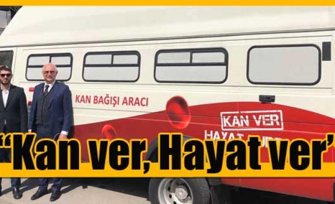 Türk Kızılayı'ndan 2. Kan Alım Aracı Bağışı