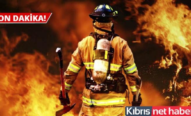 Yangın kontrol altında