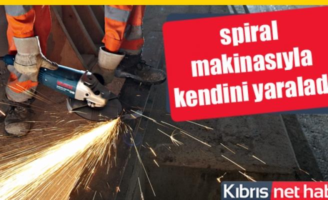 Yenierenköy'de iş kazası! 1 işçi yaralandı