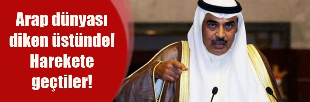 Arap dünyası diken üstünde! Harekete geçtiler!