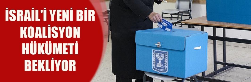 İsrail'de kesin olmayan seçim sonuçlarına göre mecliste sandalyeler eşit