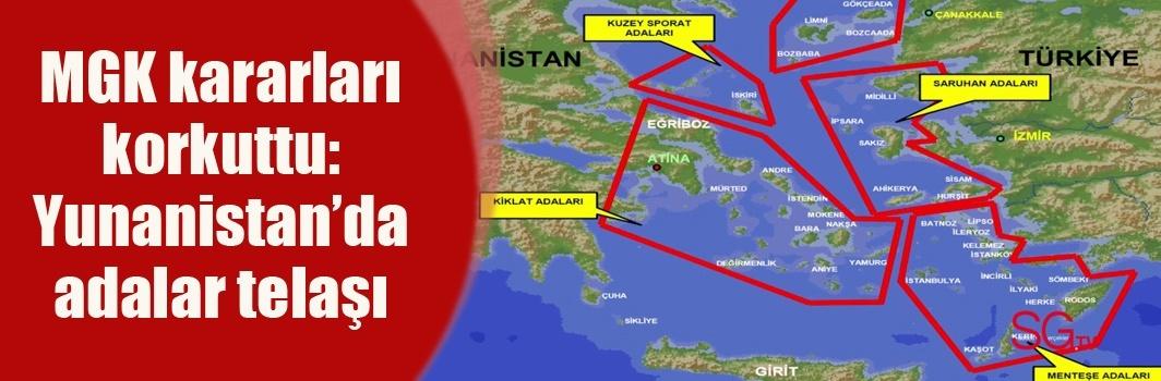 Yunanistan'da adalar telaşı
