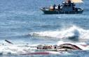 Bodrum'da göçmenleri taşıyan tekne battı