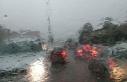 Geçitkale'de şiddetli yağmur