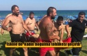 İskele'de denize giren kadın boğulma tehlikesi...