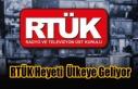 RTÜK Heyeti Çalışma Toplantısı İçin Ülkeye...