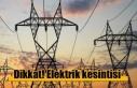 Elektrik kesintisi