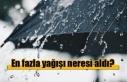 Son 24 saatlik yağış miktarları açıklandı