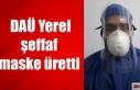 Erhürman: Yerel şeffaf maske üretimi için DAÜ'yü...