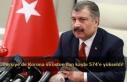 Türkiye'de Korona virüsten can kaybı 574'e...