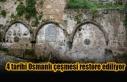 4 tarihi Osmanlı çeşmesi restore ediliyor