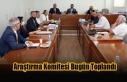 Araştırma Komitesi Bugün Toplandı