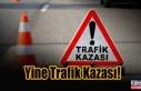 Girne - Karşıyaka Anayolu'nda kaza! 2 Yaralı