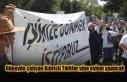 Güneyde çalışan Kıbrıslı Türkler yine eylem...