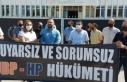 KTAMS Başbakanlık önünde eylem yaptı... grev...