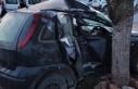 Mehmetçik yakınlarında trafik kazası.. 1 yaralı