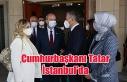 Cumhurbaşkanı Ersin Tatar İstanbul'da