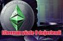 Ethereum yüzde 8 değerlendi