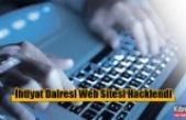 İhtiyat Dairesi Web Sitesi Hacklendi