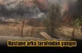 Lefkoşa'da yangın!